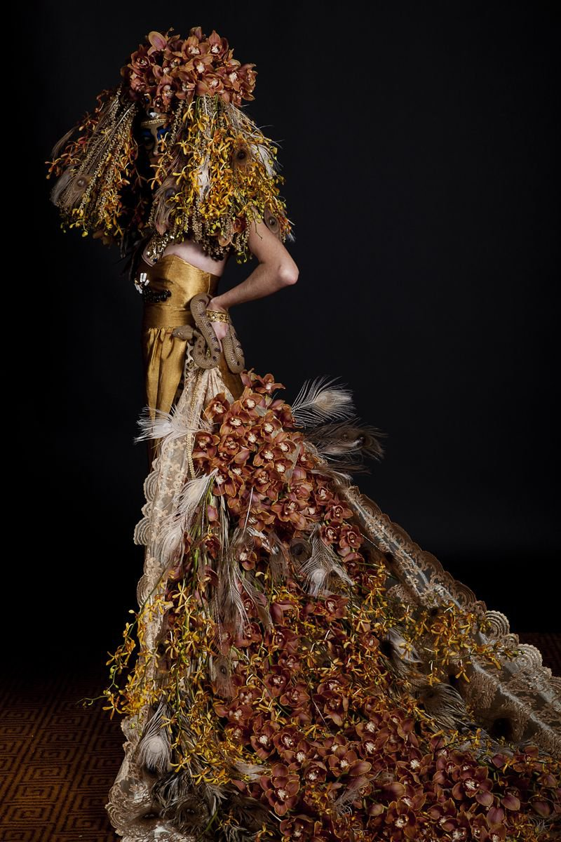 Dress Designed by Sarah Claire & Esther