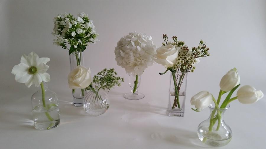 bud vase set of 6